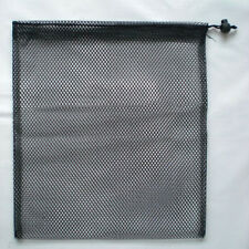 Durable Nylon Mesh Nets Bag Pouch Golf Tennis 18 Balls Carrying Holder Storage #