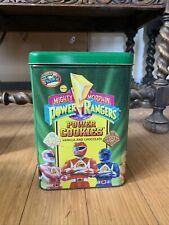 1994 Frookie Mighty Morphin Power Rangers Power Cookies Tin