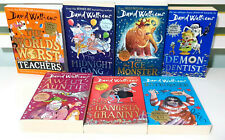 Lot of 7x David Walliams Children's Fiction Books! Gangsta Granny Awful Auntie