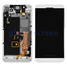 BlackBerry Z10 STL100-2 3 4 LCD Screen Digitizer Frame Black White 3G and 4G
