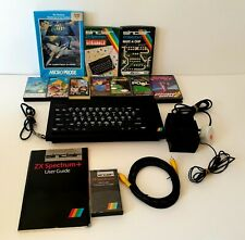Sinclair ZX Spectrum 48k+ Refurbished & tested. With 10 FREE games!