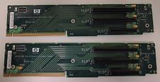 LOT OF 2 HP 408786-001 DL380 G5 PCIe Riser x8 and x16 slot 012519-001 012520-000