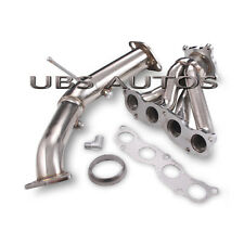 STAINLESS EXHAUST MANIFOLD 4-1 & DOWNPIPE FITS HONDA CIVIC FN2 TYPE R 2.0L