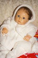 Rolanda Heimer süßes Baby Babsi 2000   HEIMER Baby mit Zertifikat.