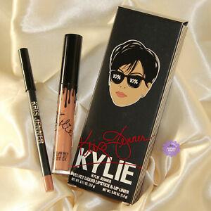 Kylie x Kris Jenner Todd Kraines Velvet Lip Kit *100% GENUINE Lipstick Lip Liner