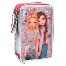 Depesche Top Model Federtasche Friends 3-fach Candy und Hayden Etui in Pink