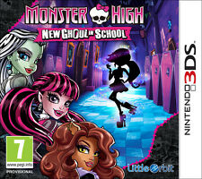 Monster High Nuova Mostramica A Scuola Nintendo 3DS IT IMPORT NAMCO