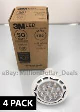 3M LED Kitchen Contractor GU10 50 WATT 500 Lumens Dimmable Soft White Bulb - 4PK