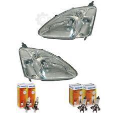 Scheinwerfer Set für Honda Civic Sedan/Coupe 03.01-09.03 H1/H7 mit Motor