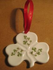 Royal Tara Ireland Irish Shamrock christmas Ornament Holiday