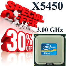 Intel Xeon QUAD CORE X5450 3.0 GHz 12MB 1333 MHz Step code SLASB Socket 771 CPU