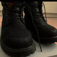 Black Ladies Timberland UK size 5/ EU 38. 6 Inch Premium Boots