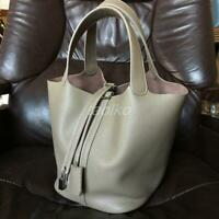 $0 Free SHIPPING GENUINE LEATHER Pebble Grain classic luxury BAG HANDBAG PURSE