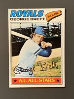 1977 Topps #580 George Brett HOF Kansas City Royals NM
