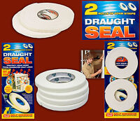 2x 5m Draught Excluder Tape Seal Doors Windows Foam Weather Strip Insulation