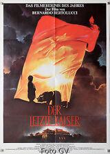 Letzte Kaiser|L'ultimo imperatore 1988Bernardo Bertolucci Orig.-Kinoplakat #G