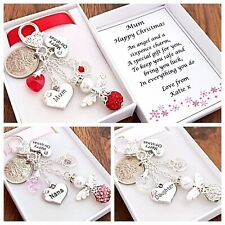 LUCKY SIXPENCE CHARM, ANGEL NANA,NAN,GRANDMA XMAS GIFT *BEAUTIFUL*