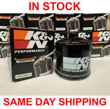 K&N Powersports Spin-On Oil Filter For Kawasaki-Yamaha - Honda -Triumph KN-204-1