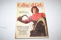 MAY 1964 CALLING ALL GIRLS magazine - FASHION - TEEN - BICYCLE