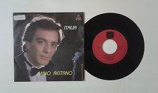 "Mino Reitano ""Italia/Italia (strumentale)"" 45 GIRI 7"" YEP YNP 995 Ita 88 VG+/VG+"