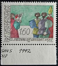 LIECHTENSTEIN - timbre/stamp Yvert et Tellier n°990 n** (cyn5)