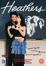 Heathers DVD (2005) Christian Slater, Lehmann (DIR) cert 18 Fast and FREE P & P