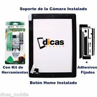 Pantalla Tactil Para iPad 2 Cristal Digitalizador Touch Screen digitizer Negra