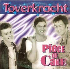 PIECE OF CAKE - toverkracht CDS!! eurodance 1998 RARE!!
