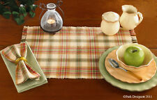 Placemat - Lemon Pepper by Park Designs - Kitchen Dining Green Red Yellow Gold