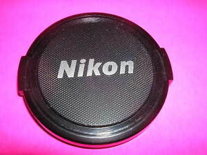 NIKON SNAP CAP FRONT LENS CAP 58MM WITH SILVER LOGO