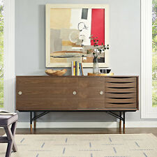 Envoy Media Sideboard  Mid Century Modern Credenza Style