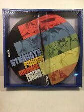 "Vintage JUSTICE LEAGUE 13.5"" Wall Clock MIB Superman/Batman/Flash"