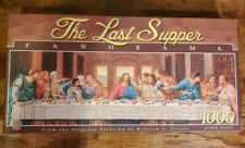 The Last Supper 1000 Piece Panoramic Jigsaw Puzzle, William T. Ternay Painting