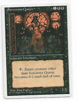 Magic the gathering ~ MTG ~ 1x Sorceress Queen ~ 4th Edition ~ M/NM