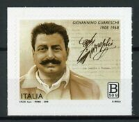Italy Stamps 2018 MNH Giovannino Guareschi Journalist Cartoonist 1v S/A Set