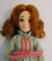 Vintage 1971 World Of Love Hippie Flower Doll With Dress Boots Hasbro Hong Kong
