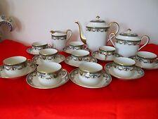 service a café  ,  porcelaine de limoges ,W.G&Cie France