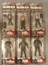 McFarlane Toys The Walking Dead TV Series 4 - 6 FIGURES Rick /Carl/Andrea/Gov./Z