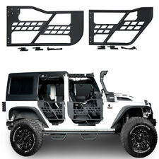 Rock Crawler Off Road Front + Rear Tubular 4 Door Set for 07-18 Jeep Wrangler JK