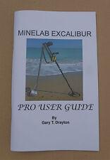 MINELAB EXCALIBUR BOOK