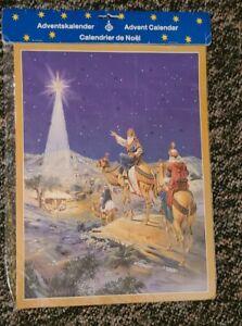 Richard Sellmer Verlag Traditional German Paper Advent Calendar Christmas Star