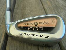 Taylormade FireSole Nickel Single 6 Iron Golf Club Right Hand D Gold Steel Shaft