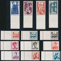 SAARLAND 1948, MiNr. 239-251 L, Leerfeld, tadellos postfrisch, Mi. 140,-
