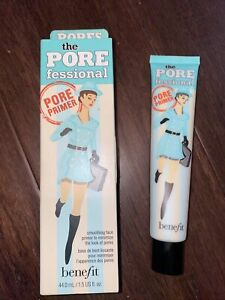 BENEFIT The POREfessional Smoothing Face Primer LARGE SIZE 44ml / 1.5oz SEALED