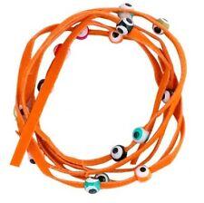 Bracelet ficelle de la chance Orange