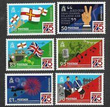 Guernsey-75th Anniv Liberation 2020 mnh set-military-World war II
