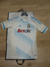 NWT Adidas 2011/12 Olympique Marseilles White Authentic Techfit Jersey (Size XL)