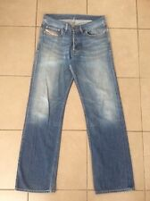DIESEL     Straight Leg    Denim Jeans      Size 30 (~ 32 )      Made in ITALY