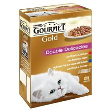 Gourmet Gold Double Delicacies Variety Pack (12x85g)