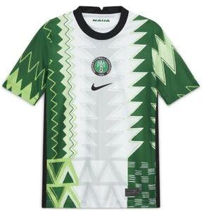 Mens Nigeria Home Football Shirt Large 2020/21